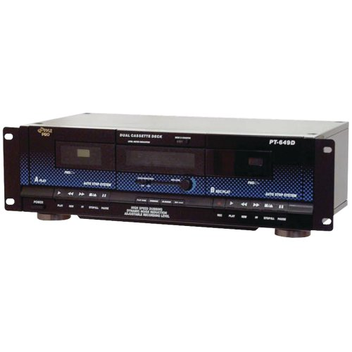 1 - Dual Cassette Deck, Normal & high-speed dubbing, Dynamic noise reduction, PT649D