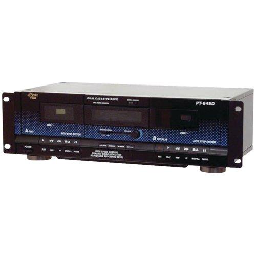 1 - Dual Cassette Deck, Normal & high-speed dubbing, Dynamic noise reduction, PT649D