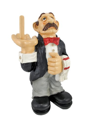 Funny Waiter Toilet Paper Roll Holder Butler Big Sale