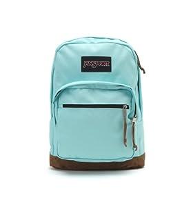 "JanSport Right Pack Backpack - Aqua Dash / 18""H x 13""W x 8.5""D"