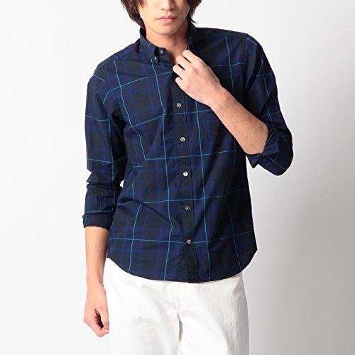 (ボイコット)BOYCOTT ボタンダウンチェックシャツ ネイビー(293) 02(M)
