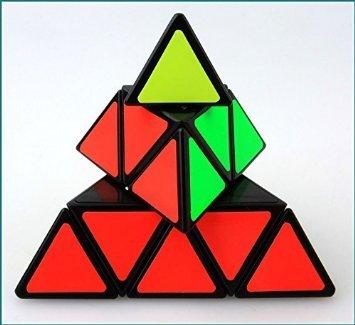 Shengshou Pyraminx Speedcubing Black Twisty Puzzle