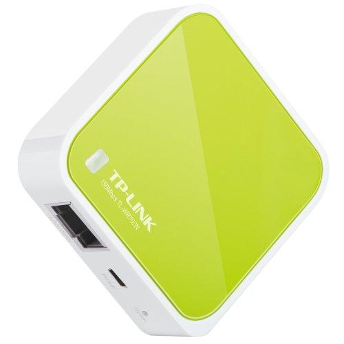 モバイル Wi-Fiルーター(WiFiルーター) 無線ルーター 無線LANルーター 小型 ポケットタイプ 150Mbps TP-LINK TL-WR702N 日本語説明書付1-003