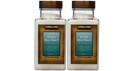 Kirkland Signature Pure Sea Salt, 30 Ounce (2 count) (Kirkland Salt compare prices)