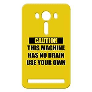 100 Degree Celsius Back Cover for Asus Zenfone 2 Selfie (Designer Printed Multicolor)