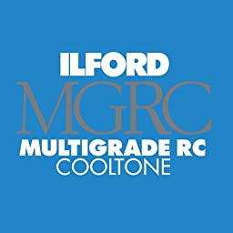 Ilford Multigrade Cooltone Resin Coated (RC) Black & White Paper (8 x 10\', Pearl, 100 Sheets)