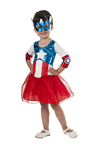 Rubie's Costume Marvel American Dream Metallic Costume, Toddler