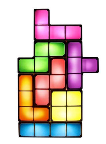 [Import Anglais]Tetris Light UK Mains Powered with Seven Individual Tetriminos