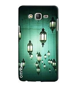Omnam Lamp Shades Hanging Effect Printed Designer Back Case Samsung Galaxy On 7
