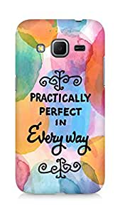 AMEZ practically perfect in every way Back Cover For Samsung Galaxy Core Prime