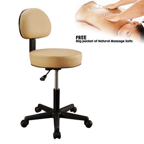 MT Massage Backrest Stool - Beige
