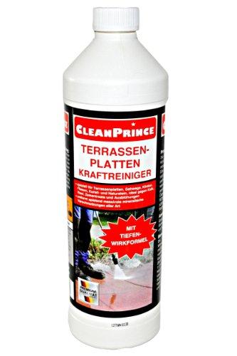 6 x 1 liter 6 liter cleanprince terrassenplatten kraftreiniger 1000ml au enbereich steine. Black Bedroom Furniture Sets. Home Design Ideas