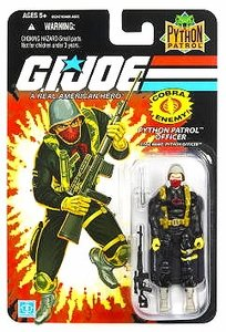 G.I. Joe 25th Anniversary Wave 8 Python Patrol Officer Action Figure