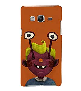 EPICCASE Freaky boy Mobile Back Case Cover For Samsung Tizen Z3 (Designer Case)