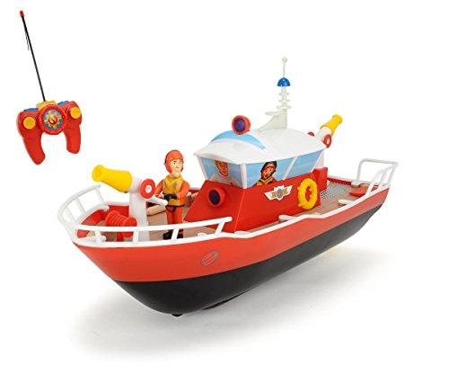 Dickie-Toys-203099621-RC-Feuerwehrmann-Sam-Titan-funkferngesteuertes-Boot-29-cm