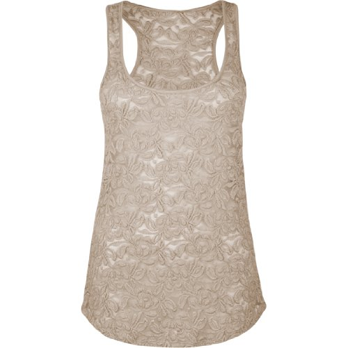 FULL TILT Lace Womens Tank