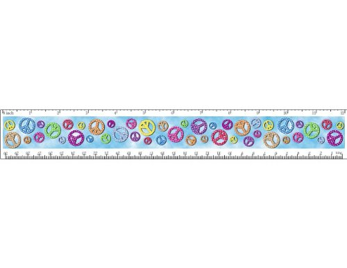Teacher Created Resources Peace Signs Ruler (5230)