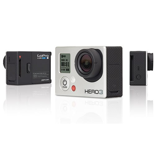 GoPro Camera HD HERO3: Silver Edition GoPro HERO 3 Black Friday