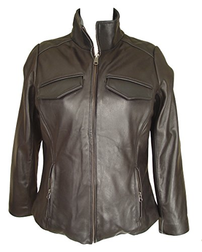 Nettailor FREE tailoring Women PLUS SIZE 4082 Leather Jacket