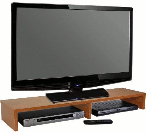 Cheap OFC Express TV Stand 42 x 14 x 5.25, Oak (HM-0120-OK)
