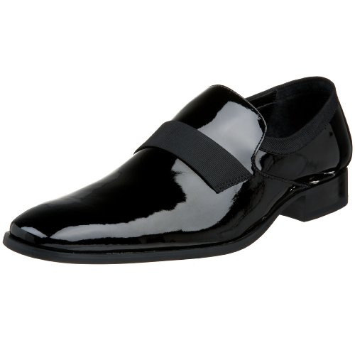 Calvin Klein Men's Guilford Slip-OnBlack Patent7 M US