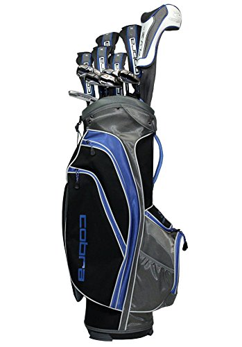 NEW Cobra Golf Fly-Z XL V2 13 Piece Complete Club Set w/ Bag Graphite Regular