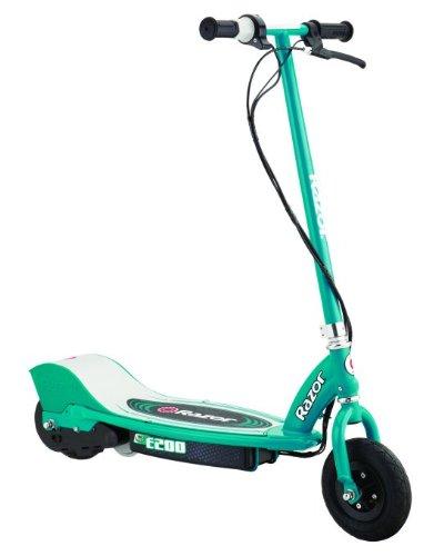 Razor E200 Electric Motorized Kids Scooter - Teal   13112445