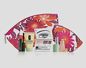 Clinique Nice 5 Pcs Makeup Set with Two Bags