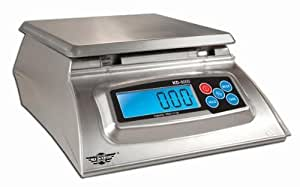 Kitchen Scale - Bakers Math Kitchen Scale - KD8000 Scale by My Weight, Silver