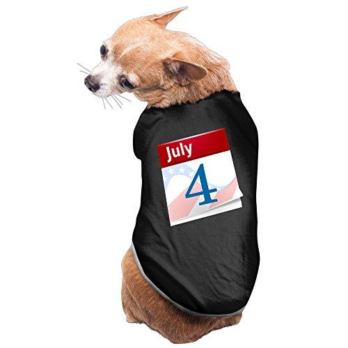 [Cute United States Independence Day July 4 Dog Shirt] (United States Postal Service Costume)