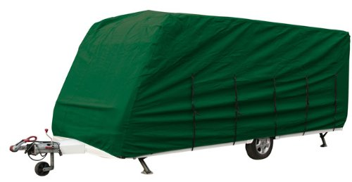 Green Breathable Caravan Covers Fits Up to 4.3 m 14 ft