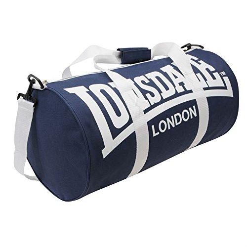 Lonsdale London Barrel, Borsone sportivo per palestra per allenamento