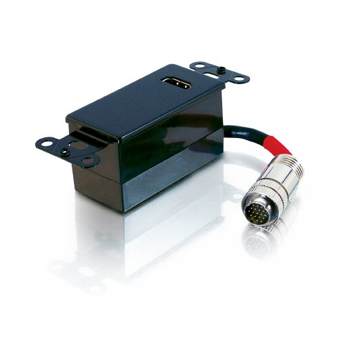 C2G / Cables To Go 42421 Rapidrun Digital Hdmi Passive Wall Plate (Black)