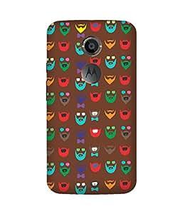 Beard Colour-56 Motorola Moto X Case