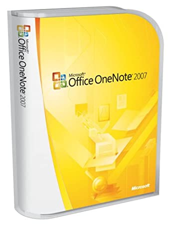 Microsoft OneNote 2007 - Old Version