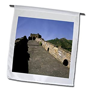 Danita Delimont - Great Wall of China - Asia, China, Beijing, Great Wall of China-AS07 BBA0219 - Bill Bachmann - 12 x 18 inch Garden Flag (fl_72500_1)