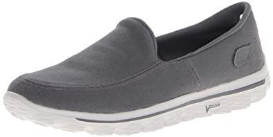 Skechers Men's Go Walk 2-Maine Walking Shoe,Charcoal,6.5 M US
