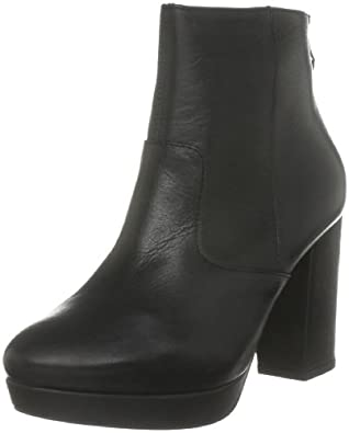 Dune Women's Real D Black Boots A11L/Le10/Lbc0232 6 UK