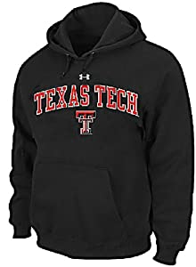 Texas Tech Red Raiders Performance ColdGear Hooded Sweatshirt by Under Armour by Under Armour