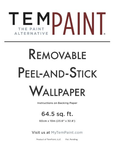 Tempaint Removable Peel And Stick Paint Charcoal Green New