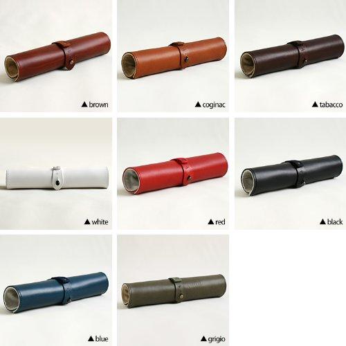 (m+)エムピウ ペンケース rotolo SUEDE ロトロ スエード 筆箱 ロールペンケース スウェード カラー coginac