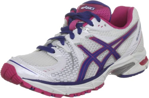 ASICS Women's Gel Ds Sky Speed White/Blue/Pink Trainer T1B6N 0159 3.5 UK