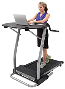 Buy Exerpeutic 2000 WorkFit High Capacity Desk Station Treadmill by Exerpeutic