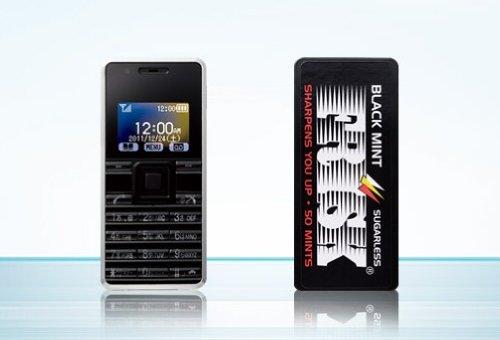 ストラップフォン WX03A WILLCOM [ブラック]
