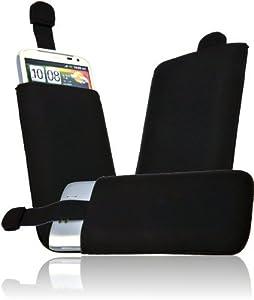 Nokia Lumia 900 Neopren Soft Case Handytasche Etui Tasche Schutzhülle mit Easy Out - black
