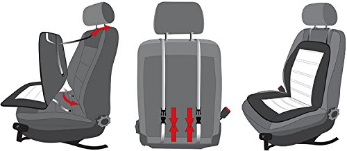 Sitzauflage-Sitzschoner-paarweise-NOVARA-grau-fr-Ford-Mondeo-alle-Modelle-Kuga-StreetKa-Street-Ka