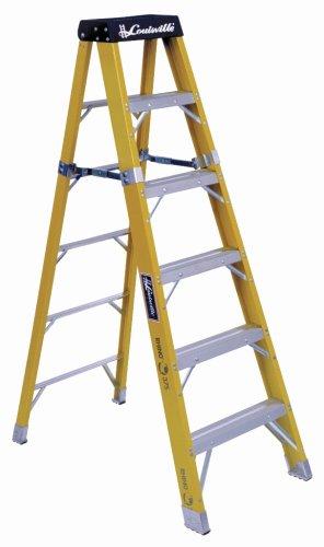 Louisville Ladder FS1104HD 375-Pound Duty Rating Stepladder, 4-Foot
