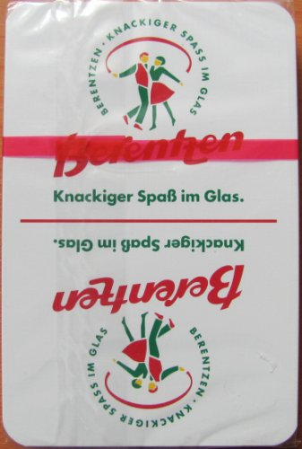 Berentzen - Skatspiel (Leinen) - franz. Blatt - Neu