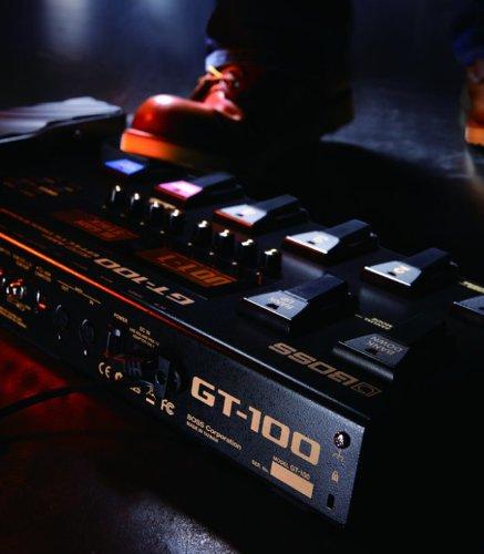 BOSS ( ボス ) GT-100 COSM Amp Effects Processor ギター用マルチエフェクター 最新カスタムDSP&COSM技術! USBオーディオ/MIDI機能搭載!