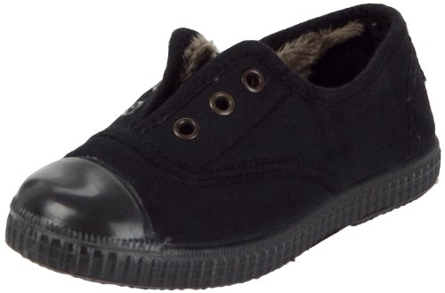 Chipie Junior Josepe Doudou Noir Canvas Trainer 239370-22 11 UK, 29 EU